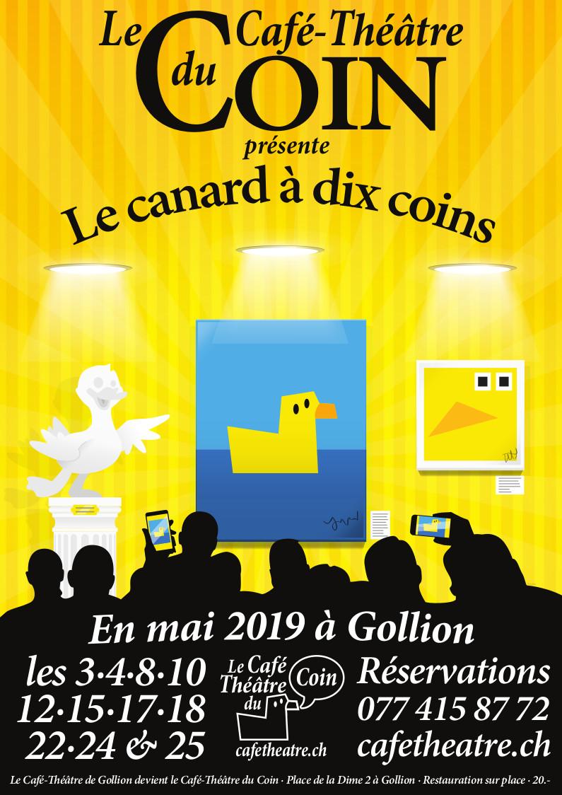 2019 - Le canard à dix coins