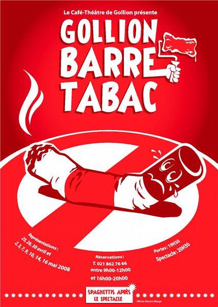2008 - Gollion barre tabac