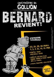2010 - Bernard revient