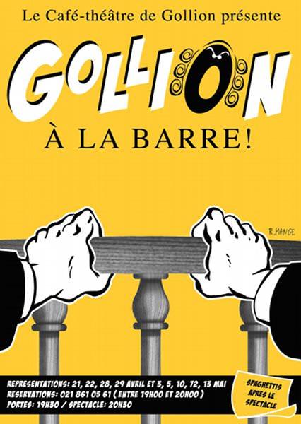 2006 - Gollion à la barre