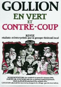 1984 - Revue : Gollion en vert et contre-Coup