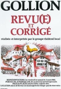 1983 - Revue : Gollion revu(e) et corrigé