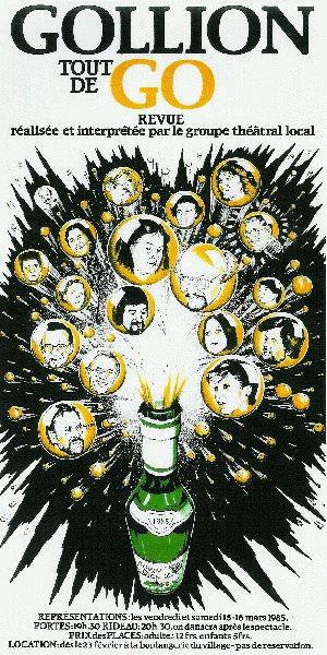 1985 - Revue : Gollion tout de Go