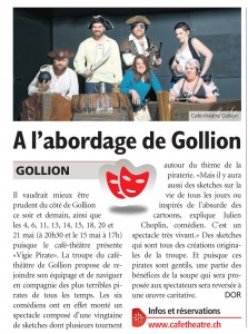 Journal de Morges, 29.04.2016